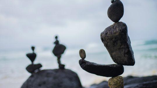 Equilibrio en la postura